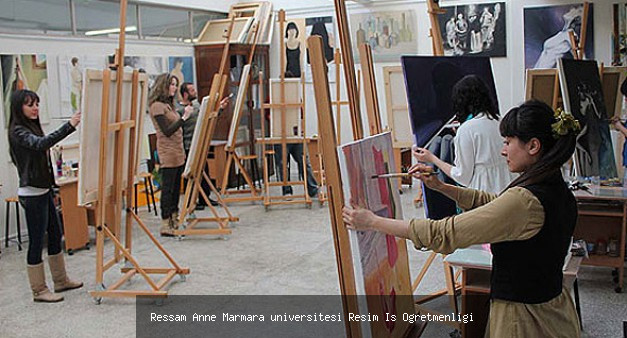 Marmara üniversitesi Resim İş Öğretmenliği